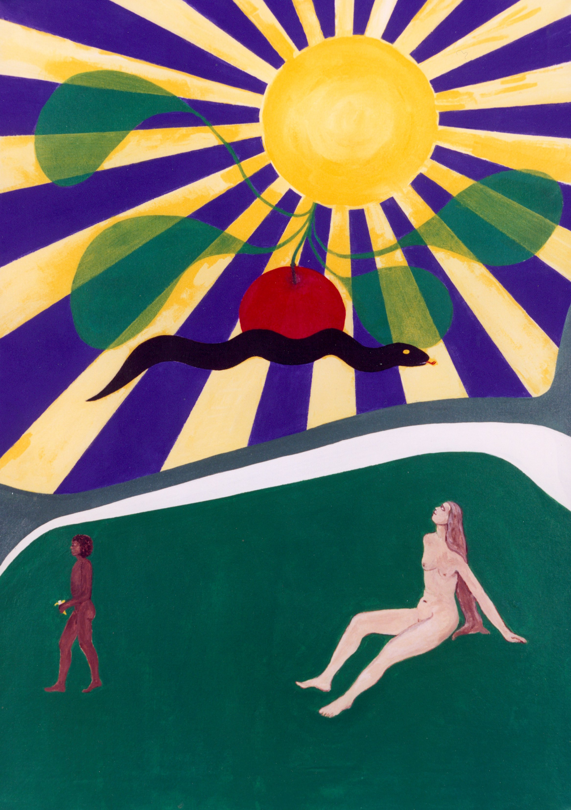 A painting by the artist James Foort called: Adam and Eve (2 of 8)